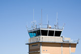 airport control tower poster