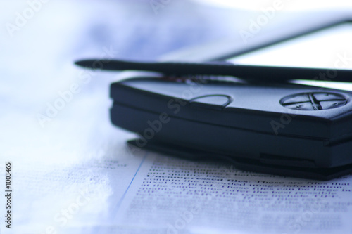 smartphone with stylus