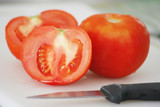 tomatoes and knife poster