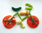 Bukiet warzyw na wesoło