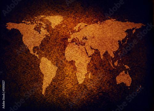 mapa-swiata-grunge