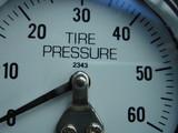 tire pressure gauge poster