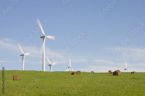 éoliennes à la campagne - 1010624