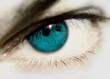 ojo azul