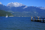 Fototapety lac d'annecy