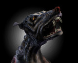 hell hound howling poster