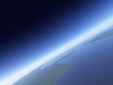 Fototapete Astro - Astrologie - Luftaufnahmen