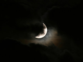 halloween crescent moon
