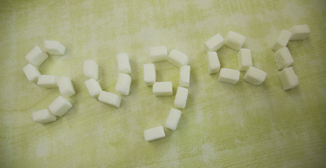 cubes of sweetness