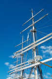rig of tall ship poster