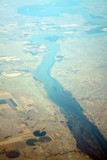 river aerial view poster