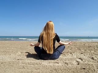 postura de yoga