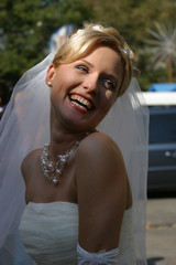 the happy bride