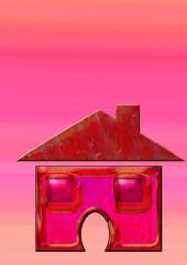maison rouge