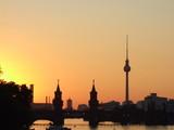 Fototapety sonnenuntergang in berlin