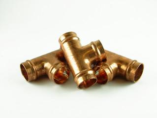 15mm plumbing tees