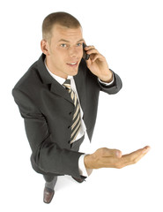 businessman arguing