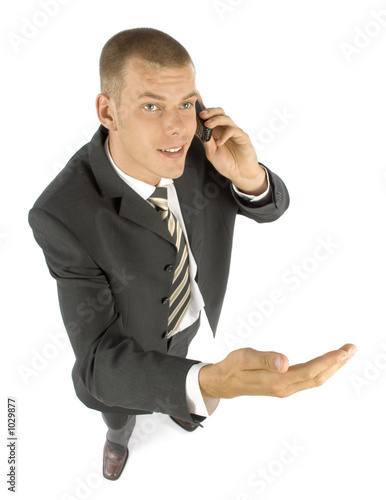 businessman arguing