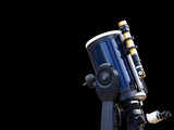 high-power telescope poster