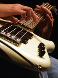Fototapety bass guitar