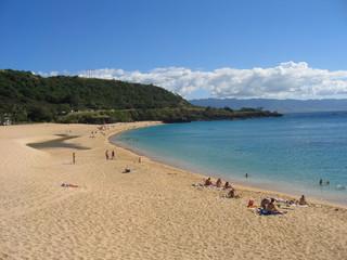 plage à hawai