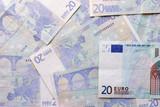 twenty euro notes poster