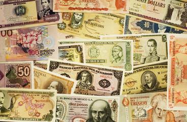 a lot of south-american bills