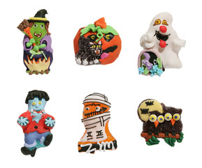 haloween shaped candy