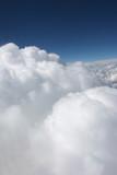 white cumulus poster