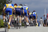 course cycliste poster
