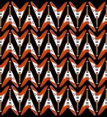 """flying v"" guitar pattern"