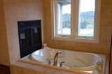 master bath with a view poster