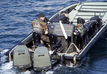 military landing boat