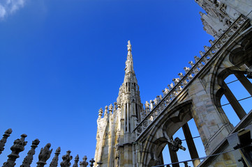 duomo di milano (milan dome cathedral) italy