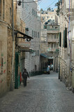 alley, old city, jerusalem