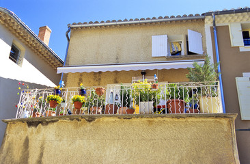 provencial terrace