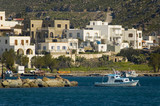 seaside village, skala, island of patmos, greece