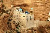 saint george's monastery, wadi kel jericho, israel