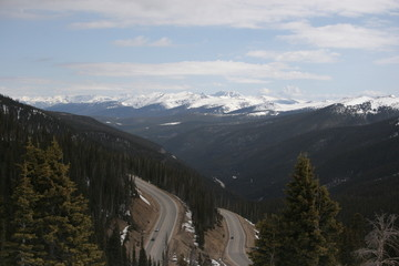rocky mountain overlook