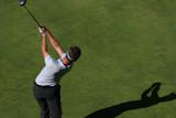 golf tee shot poster