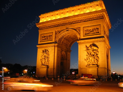 arc de triomphe à paris