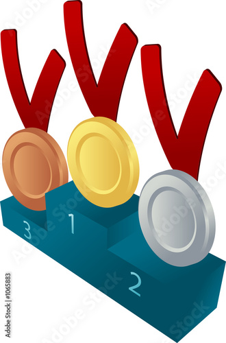 medal awards illustration