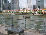 boat quay @ singapore poster