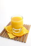 freshening orange juice poster