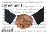 agreement poster