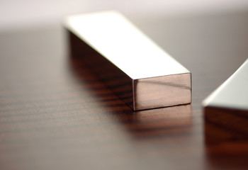 silver bar on table