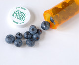 blueberry healthy prevention poster