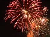bursts of fireworks poster