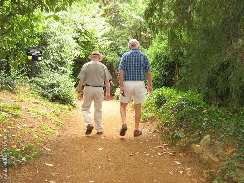 elderly men enjoying life during pension