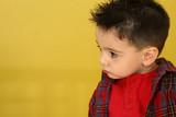 adorable toddler boy poster